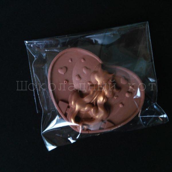 Шоколад ручной работы Влюбленные коты
