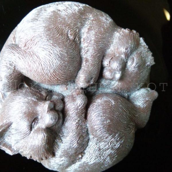 Шоколад ручной работы Коты Инь-Ян