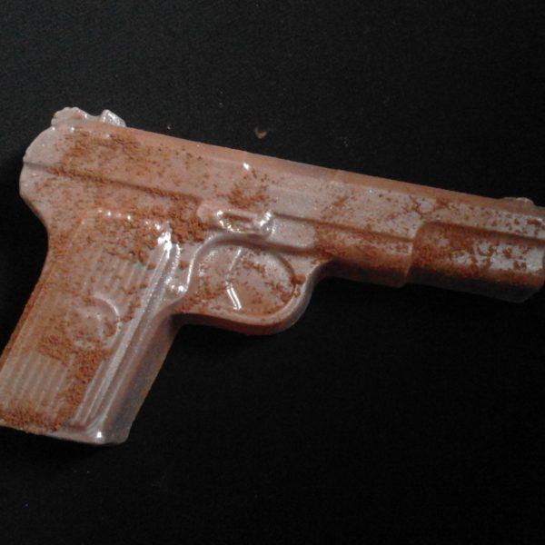 Шоколад ручной работы. Шоколадный Пистолет