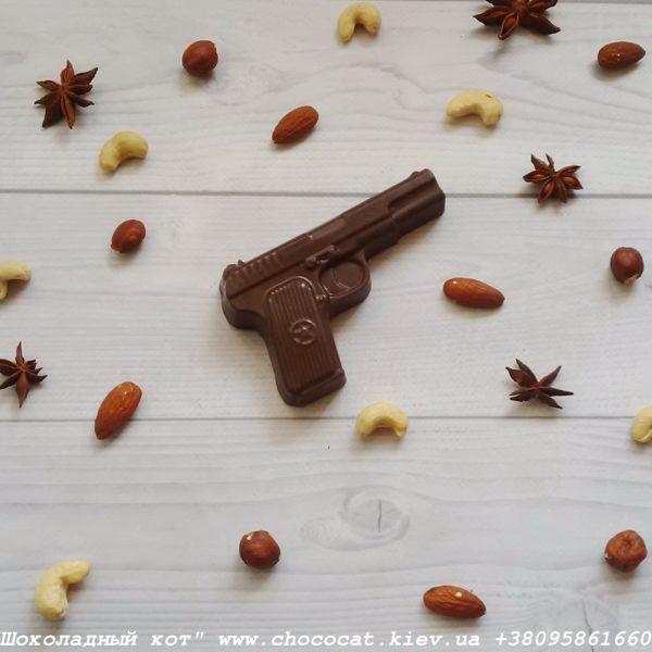 Шоколад ручной работы. Пистолет