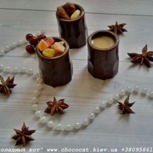 Шоколад ручной работы. Шоколадная рюмка