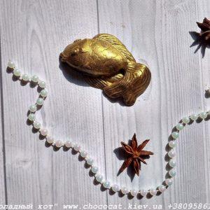 Шоколадная золотая рыбка
