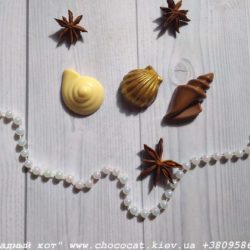 Шоколадные ракушки
