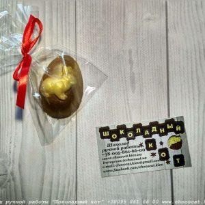 Яйцо заяц из шоколада