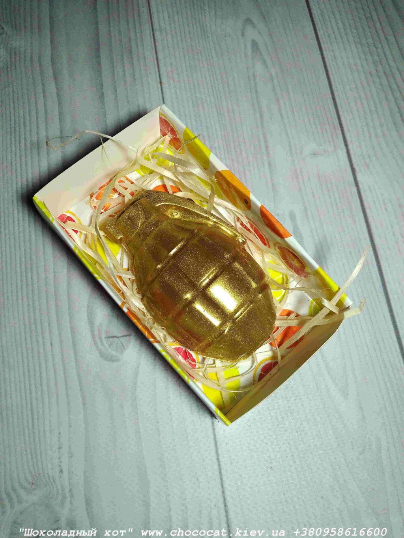 Шоколадная граната. Граната из шоколада