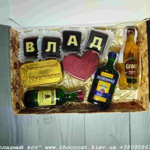Шоколадный мужской подарок