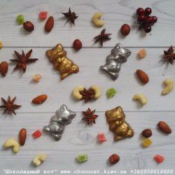 Шоколад ручной работы Котик