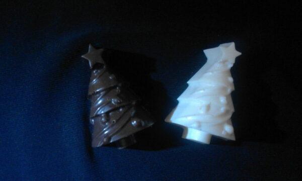Шоколад ручной работы. Елка