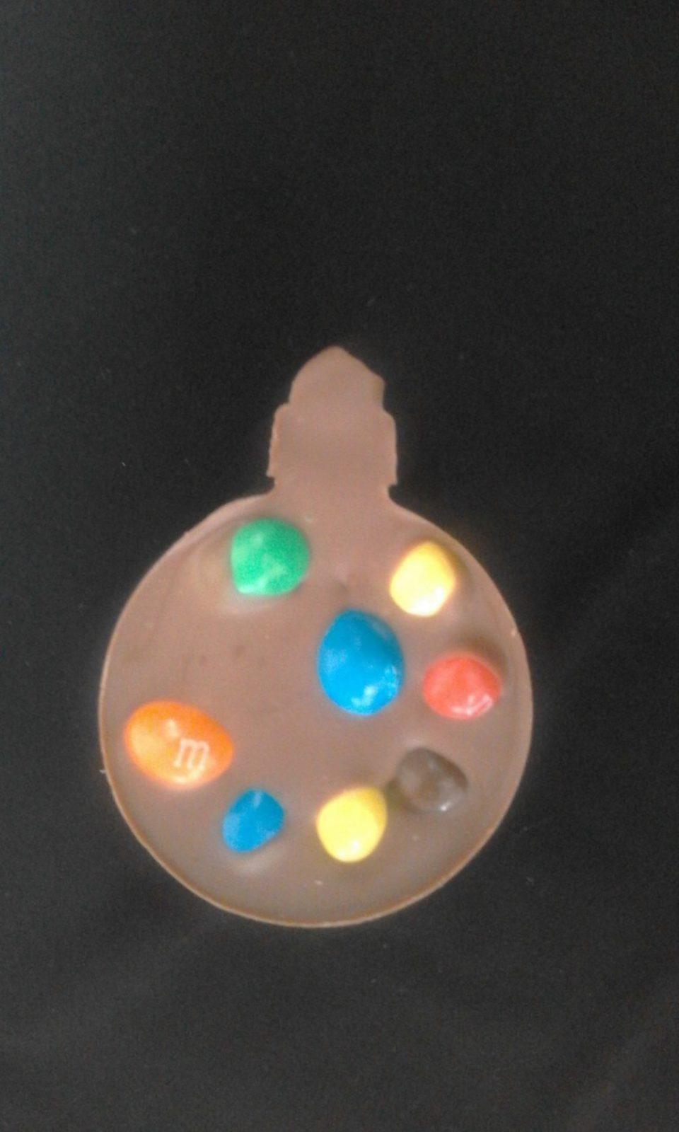 Шоколад ручной работы Елочная игрушка
