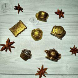 Чайный набор из шоколада