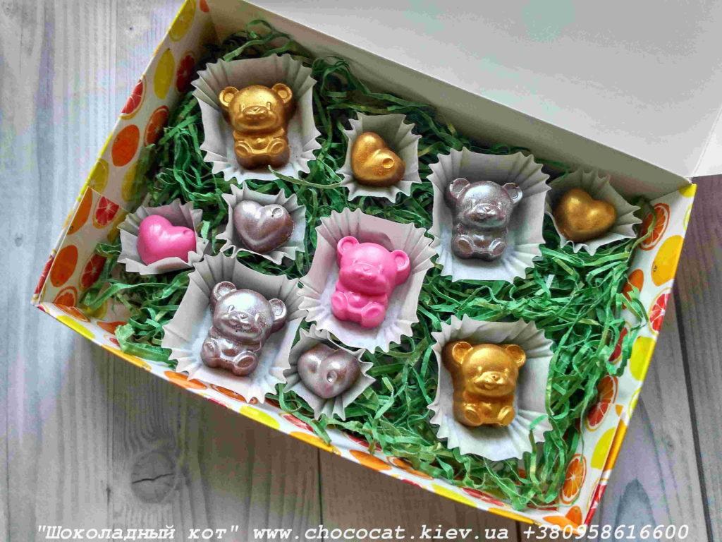 Шоколад детям. Шоколадный мишка