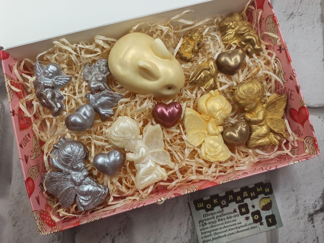 Пасхальный подарок шоколада