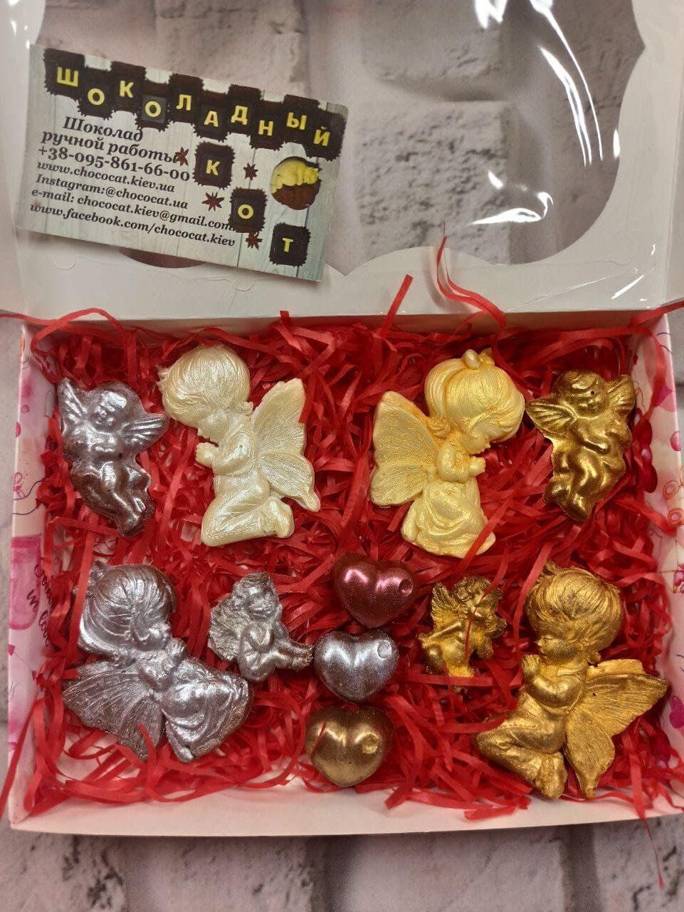 Набор шоколадных ангелов